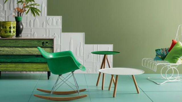 Le vert, la couleur de décoration design - Design Obsession