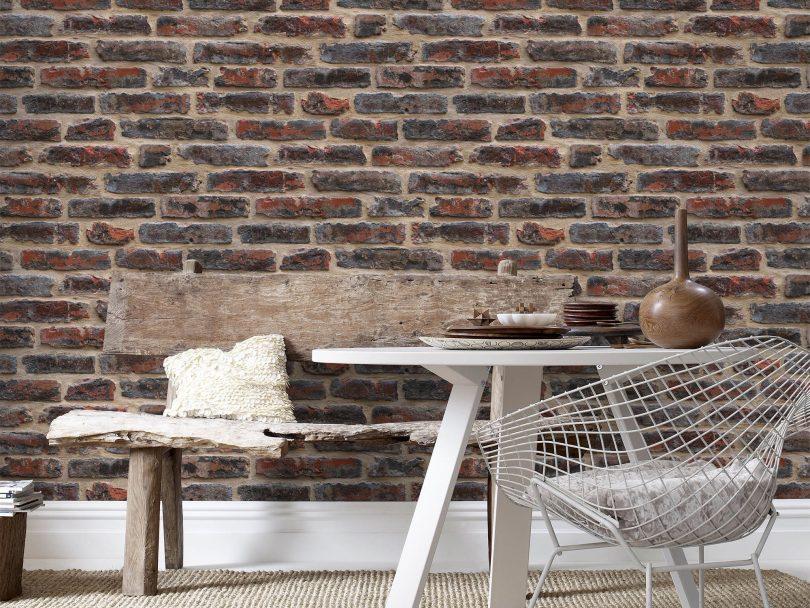 Mur en brique interieur industriel